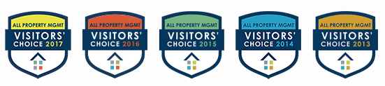 All Property Management Visitors Choice Awards - West Point Property Management